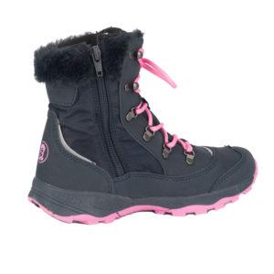 Trollkids Hemsedal Winter Boots Girls dark rose Winterschuhe Kinder